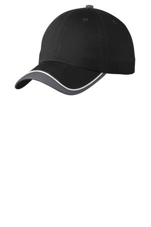 Port Authority Double Visor Cap. C828
