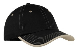 Port Authority Vintage Washed Contrast Stitch Cap.  C835