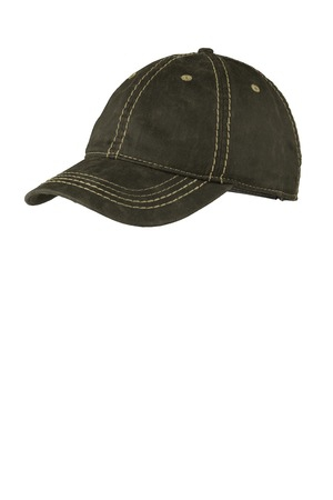 Port Authority Pigment Print Distressed Cap. C924