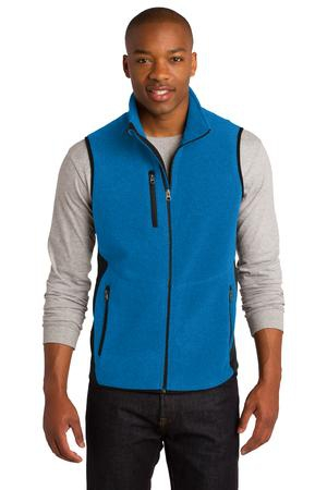 Port Authority RTek Pro Fleece FullZip Vest. F228