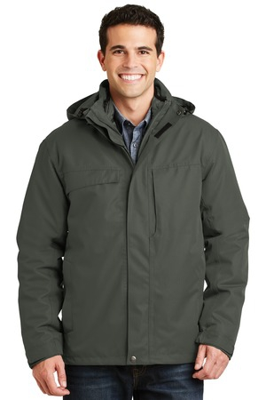 Port Authority Herringbone 3in1 Parka. J302
