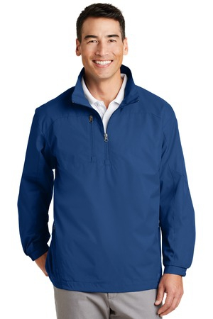 Port Authority 1/2Zip Wind Jacket. J703