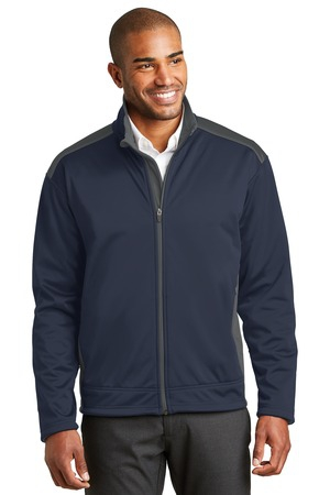 Port Authority TwoTone Soft Shell Jacket.  J794