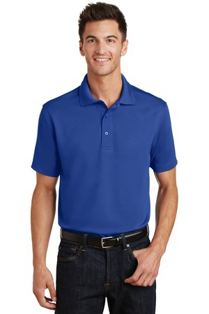 Port Authority PolyCharcoal Blend Pique Polo. K497