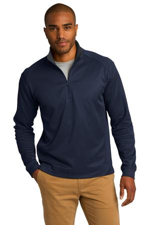 Port Authority Vertical Texture 1/4Zip Pullover. K805