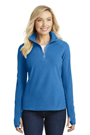 Port Authority Ladies Microfleece 1/2Zip Pullover. L224
