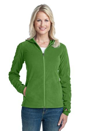 Port Authority Ladies Microfleece Hoodie. L225