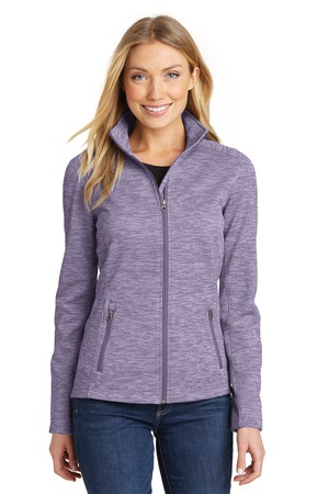 Port Authority Ladies Digi Stripe Fleece Jacket. L231