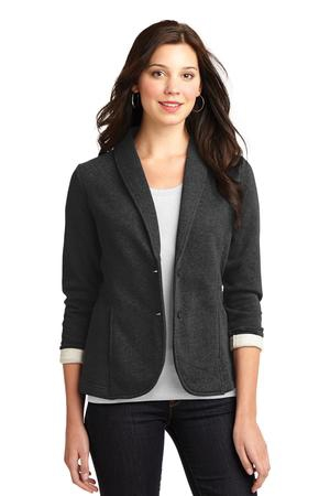 Port Authority Ladies Fleece Blazer. L298