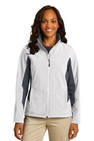 Port Authority Ladies Core Colorblock Soft Shell Jacket. L318