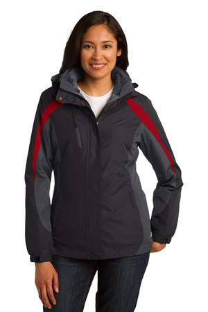 Port Authority Ladies Colorblock 3in1 Jacket. L321