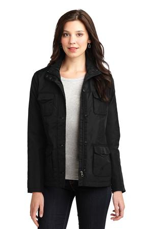 Port Authority Ladies FourPocket Jacket. L326