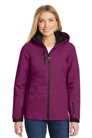 Port Authority Ladies Vortex Waterproof 3in1 Jacket. L332