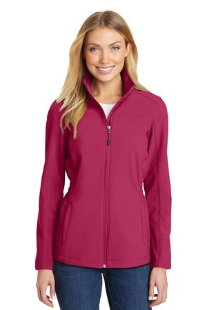 Port Authority Ladies CinchWaist Soft Shell Jacket. L334