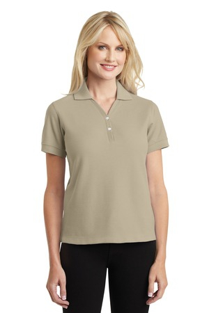 Port Authority Ladies 100% Pima Cotton Polo.  L448