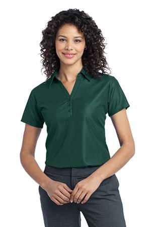 Port Authority Ladies Vertical Pique Polo. L512