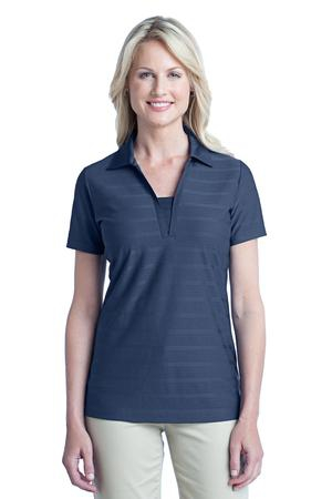 Port Authority Ladies Horizontal Texture Polo. L514