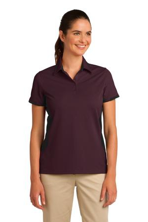 Port Authority Ladies Dry Zone Colorblock Ottoman Polo. L524