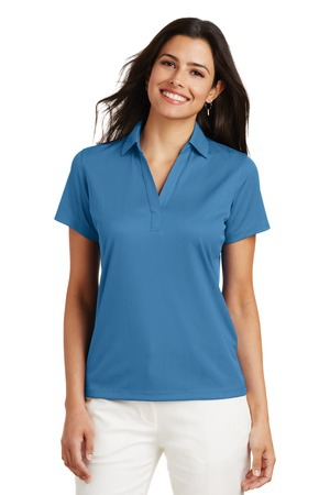 Port Authority Ladies Performance Fine Jacquard Polo. L528