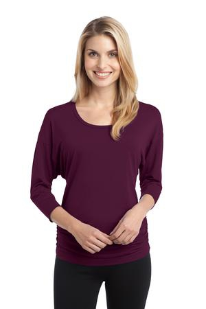 Port Authority Ladies Concept Dolman Sleeve Shirt. L544