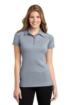 Port Authority Ladies Fine Stripe Performance Polo. L558