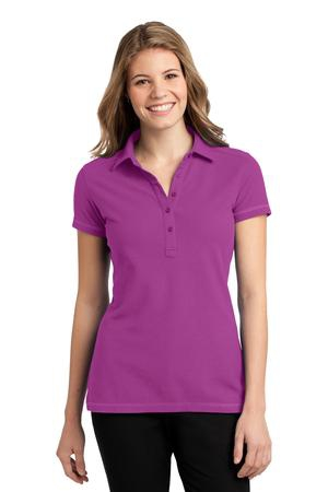 Port Authority Ladies Modern StainResistant Polo. L559