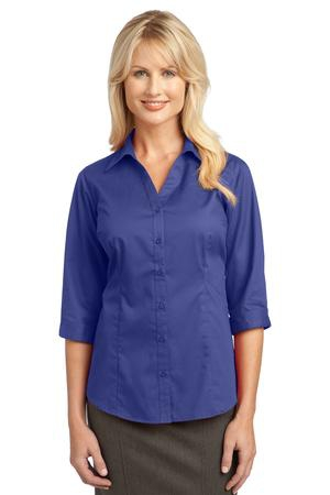 IMPROVED Port Authority Ladies 3/4Sleeve Blouse. L6290