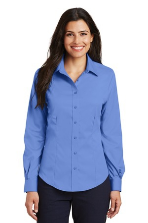 Port Authority Ladies NonIron Twill Shirt.  L638