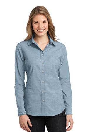 Port Authority Ladies Chambray Shirt. L653