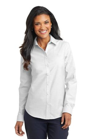 Port Authority Ladies SuperPro Oxford Shirt. L658