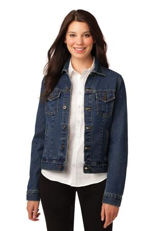 Port Authority Ladies Denim Jacket. L7620