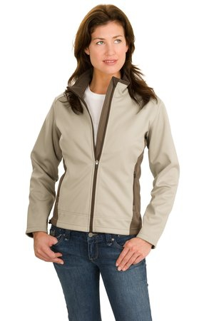 Port Authority Ladies TwoTone Soft Shell Jacket.  L794