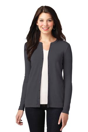Port Authority Ladies Concept Stretch ButtonFront Cardigan. LM1008
