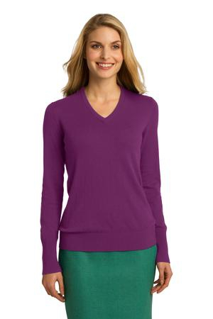 Port Authority Ladies VNeck Sweater. LSW285