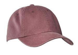 Port Authority GarmentWashed Cap.  PWU