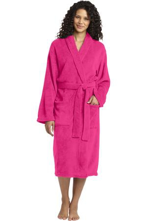 Port Authority Plush Microfleece Shawl Collar Robe. R102