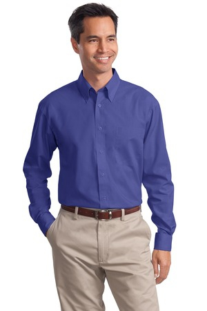 Port Authority Long Sleeve Value Poplin Shirt. S632
