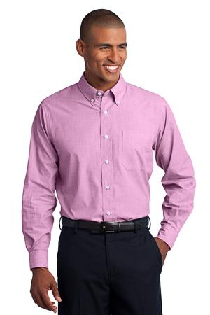 Port Authority Crosshatch Easy Care Shirt. S640