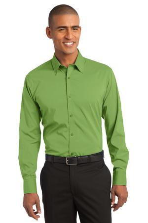 Port Authority Stretch Poplin Shirt. S646