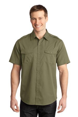 Port Authority StainRelease Short Sleeve Twill Shirt. S648
