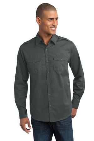 Port Authority StainRelease Roll Sleeve Twill Shirt. S649