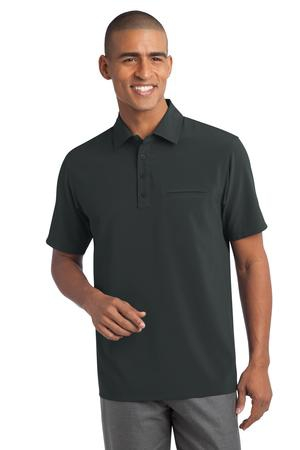 Port Authority Ultra Stretch Pocket Polo. S650