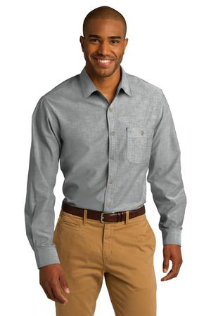 Port Authority Chambray Shirt. S653