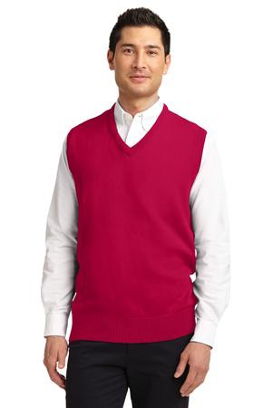 Port Authority Value VNeck Sweater Vest. SW301