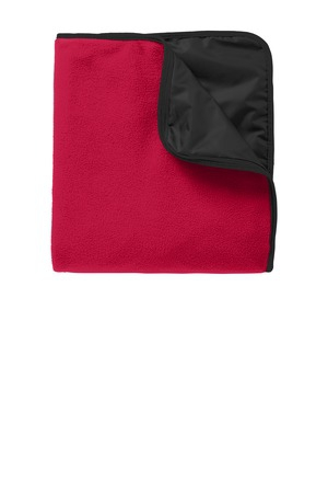 Port Authority Fleece & Poly Travel Blanket. TB850