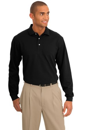 Port Authority Tall Rapid Dry Long Sleeve Polo. TLK455LS