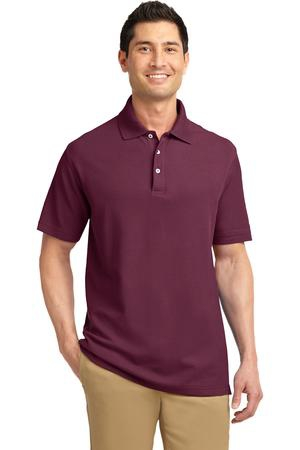 Port Authority Tall EZCotton Pique Polo. TLK800