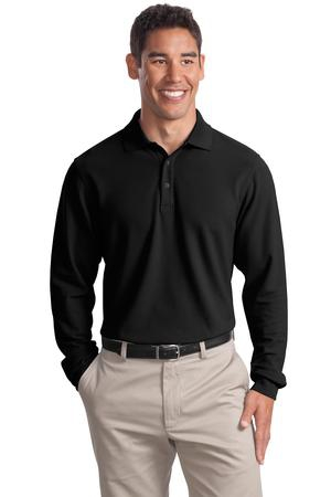 Port Authority Tall Long Sleeve EZCotton Pique Polo. TLK800LS