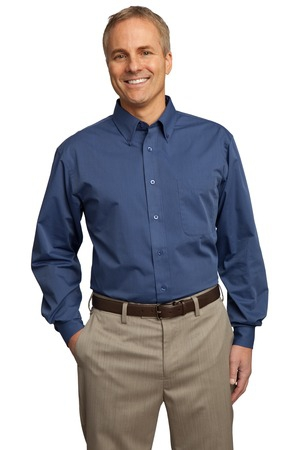 Port Authority Tall Tonal Pattern Easy Care Shirt. TLS613