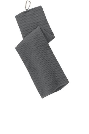 Port Authority Waffle Microfiber Golf Towel. TW60